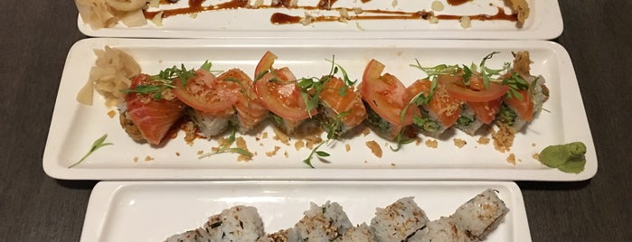 Kinja Sushi is one of Bay.