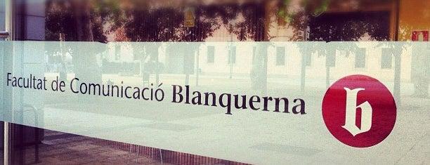 Facultat de Comunicació Blanquerna is one of BCNegra 2014.