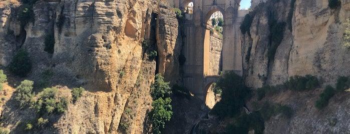 Mirador Puente Nuevo De Ronda is one of Josh : понравившиеся места.