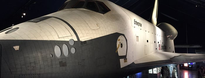 Space Shuttle Pavilion at the Intrepid Museum is one of Josh : понравившиеся места.