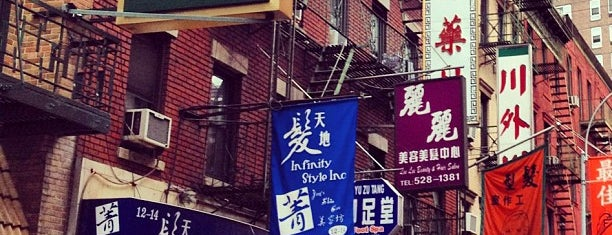 Chinatown is one of New York Sights.