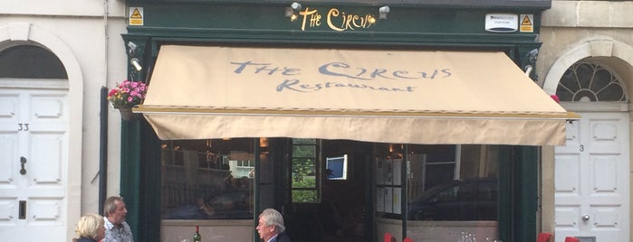 The Circus Restaurant is one of Bath.