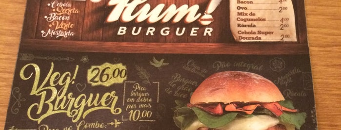 Hum! Burguer is one of Brasilia.