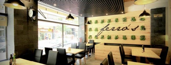 Ferros Café is one of Tempat yang Disimpan Miriam M.