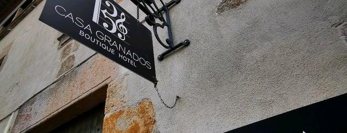 Boutique Hotel Casa Granados is one of สถานที่ที่ Miguel ถูกใจ.