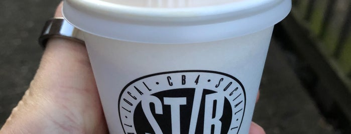 Stir is one of 111 Cambridge places.