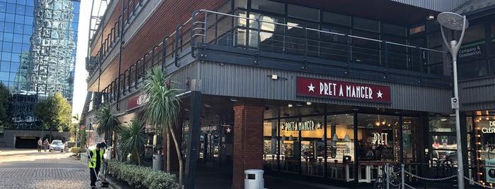 Pret A Manger is one of Orte, die Dave gefallen.