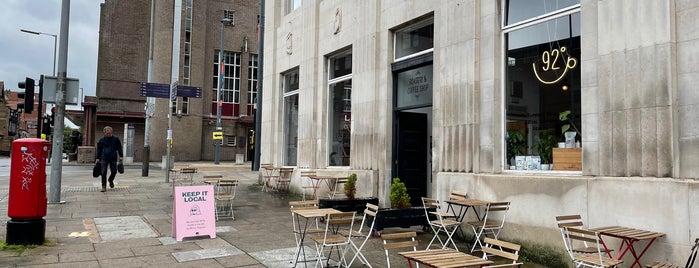 92° Coffee is one of Liverpool favourite.