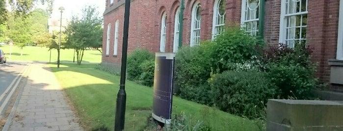 Bronte Hall is one of Leeds Beckett University Buildings.