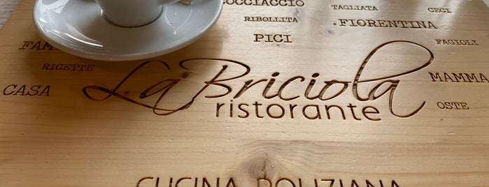 La Briciola is one of Montepulciano.