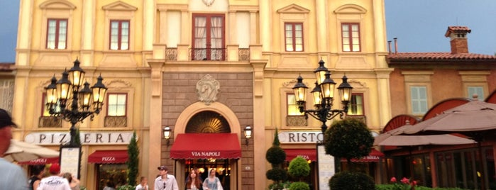 Via Napoli Ristorante e Pizzeria is one of Disney Dining.