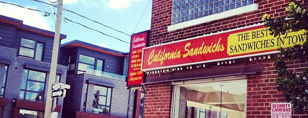 California Sandwiches is one of Toronto Must-Try Noms.