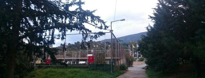Cholargos Tennis Club is one of Ifigenia: сохраненные места.