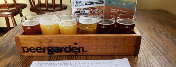 Beergarden is one of EUG.