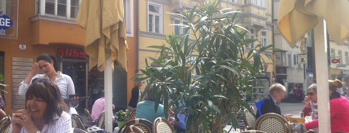 Manna Delikatessen Café is one of Iz in INNSBRUCK.