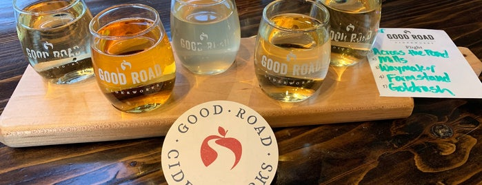 GoodRoad CiderWorks is one of NC Craft Breweries.