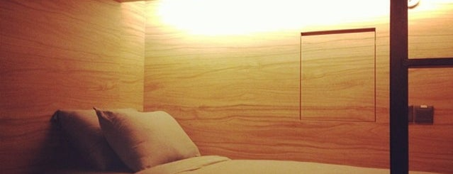 The Pod Boutique Capsule Hotel is one of Singapore Bucket-List.
