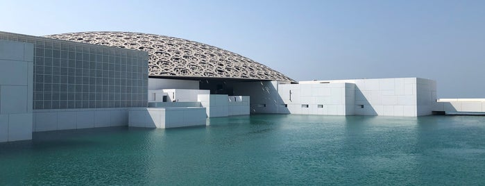 Louvre Abu Dhabi is one of Abu Dhabi.