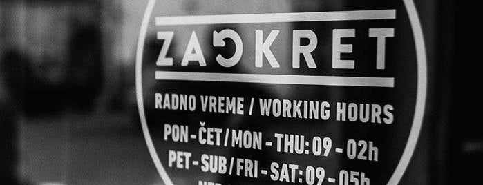 Zaokret is one of Craft Beers of Serbia.