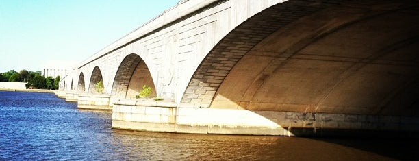 Arlington Memorial Bridge is one of Washington, DC.
