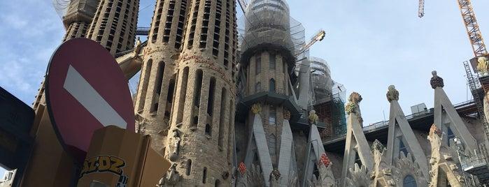 Cripta de la Sagrada Família is one of Simon : понравившиеся места.