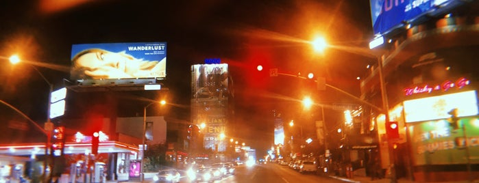 The Sunset Strip is one of Поесть.