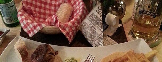 Kathi's Steakhouse is one of Tempat yang Disukai Merve.