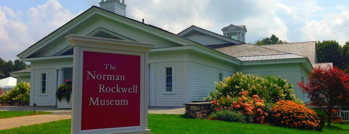 Norman Rockwell Museum is one of To Fly For.