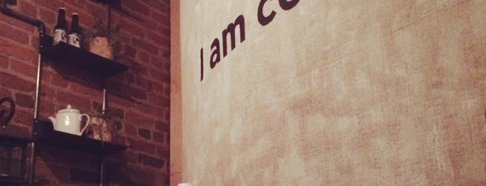 I Am Coffee is one of New York City Coffee by Subway Stop.