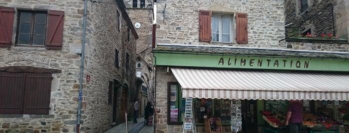 Blesle is one of Les plus beaux villages de France.