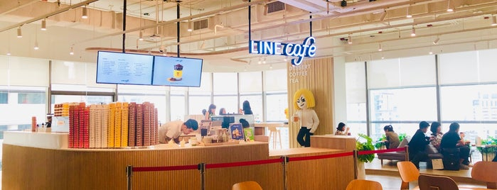 LINE Thailand is one of Lugares favoritos de Chayaporn.