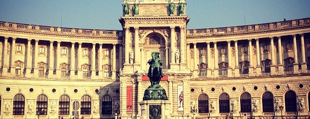 Heldenplatz is one of Vienna.