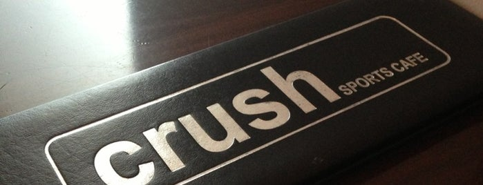 Crush Sports Cafe is one of Pablo 님이 좋아한 장소.