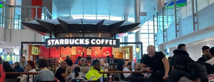 Starbucks is one of Lieux qui ont plu à Vi.