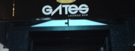 Gates Lounge Bar is one of Gespeicherte Orte von Ana.