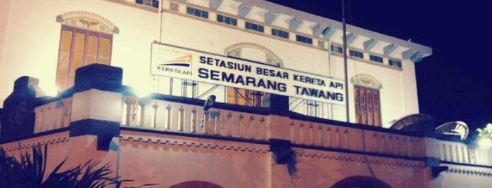 Stasiun Semarang Tawang is one of Medan-Jekarda-Semarang-Jekarda-Medan.