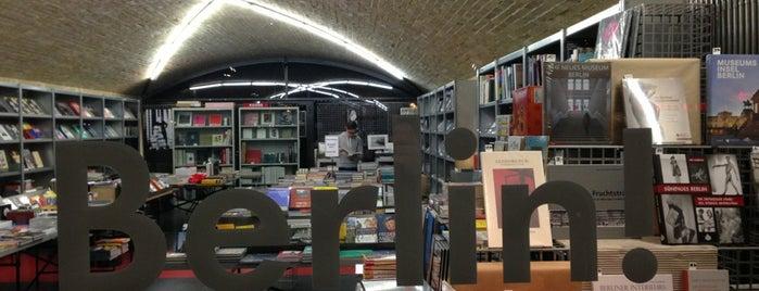Bücherbogen is one of Best Berlin Book Shops.