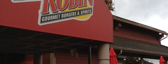 Red Robin Gourmet Burgers and Brews is one of b ~ check !.
