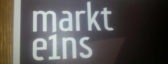 Markt Eins is one of Locations, die ich mag.