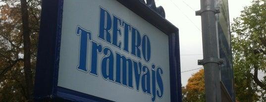 Retro tramvajs is one of Rīgas must visit!.