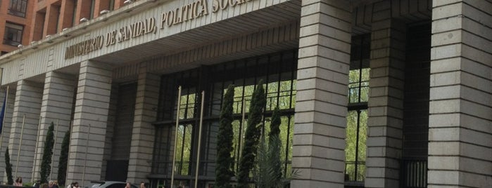 Ministerio de Sanidad, Servicios Sociales e Igualdad is one of Jumpers.