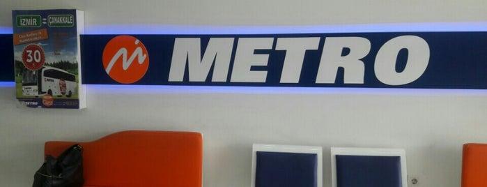 Metro Turizm is one of Locais curtidos por Ümit.