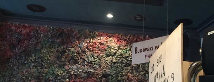 Pub bukowski is one of Baku.