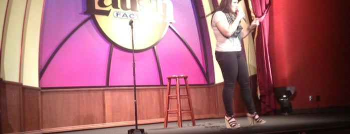Laugh Factory is one of Comedy & Theater in Chicagoland.