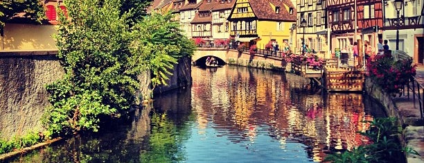 La Petite Venise is one of Colmar.