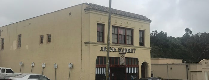 Arena Market is one of Point Arena.