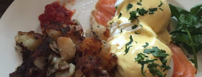 Cafe Orlin is one of NYC's Best Eggs Benedict Dishes.