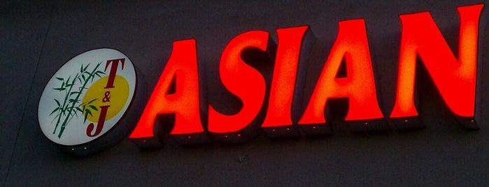 T & J Asian Cuisine is one of Orte, die Ryan gefallen.