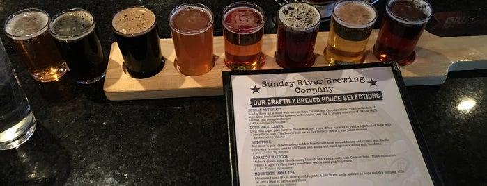 Sunday River Brewing Company is one of Posti che sono piaciuti a Geo.