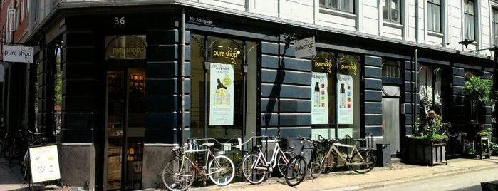Pure shop is one of Køben.